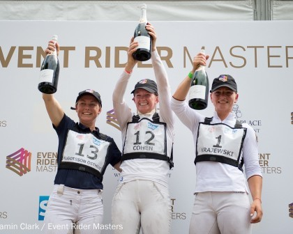 Image for Britain's Sarah Cohen tops the first all-female podium at Leg 2 of the Event Rider Masters