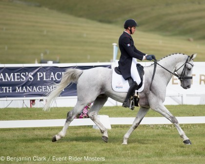 Image for Carlile and Upsilon set new Event Rider Masters dressage record