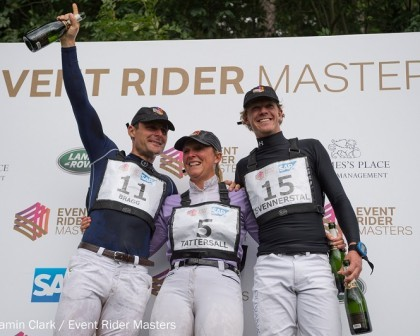 Image for Former racehorse delivers masterful win for Tattersall at Leg 5 of the Event Rider Masters