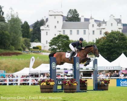 Image for Franky Reid-Warrilow and Dolley Whisper lead after showjumping at Leg 6