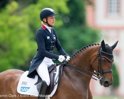 Image for Girl power! Female trio of riders lead Event Rider Masters 2017 Leg 2 dressage