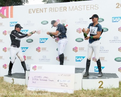 Image for Jung is the master of modern Eventing at Leg 4