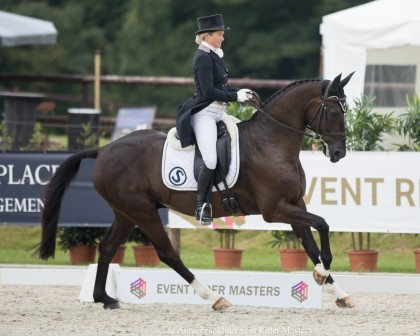 Image for Kiwi Couple Tim and Jonelle Price take a look at Jonelle's Leg 3 Dressage Test from Arville