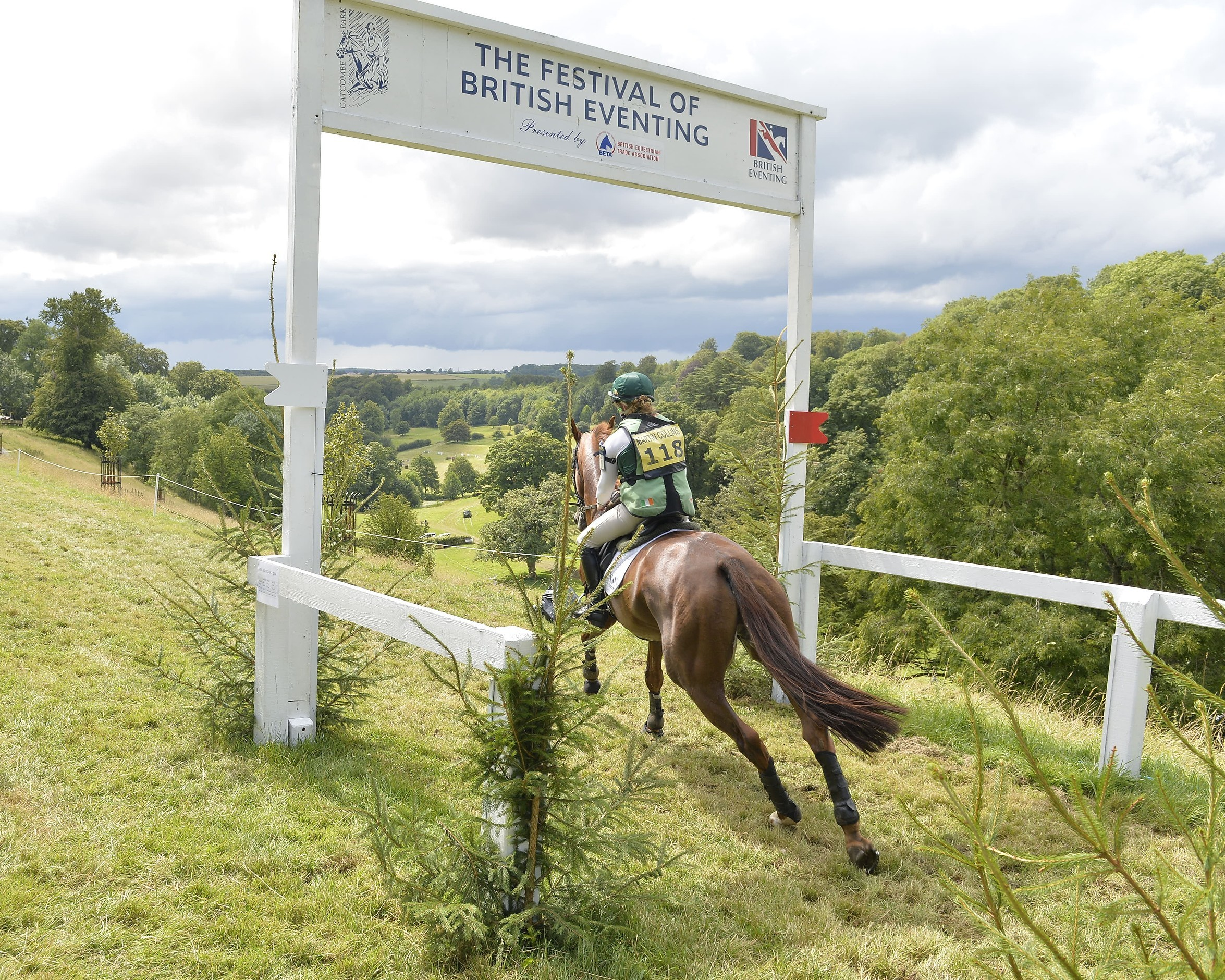 Image for Leg 4 heads to The Festival of British Eventing at Gatcombe Park