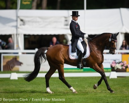 Image for Niklas Bschorer delivers stunning dressage test to lead Leg 6