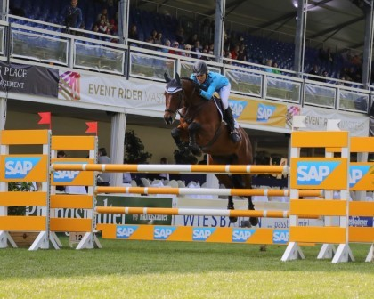 Image for No change at the top of the Leaderboard after Leg 2 Show Jumping